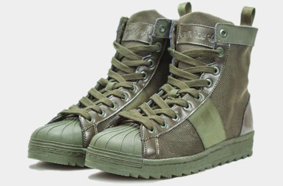 Фото Adidas Superstar Jungle Boots зеленые - 1